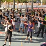 Festival Yoga Alicante - 21 junio 2014 - Meditacion Activa Chacra del Corazon 1 - BioPerson 4